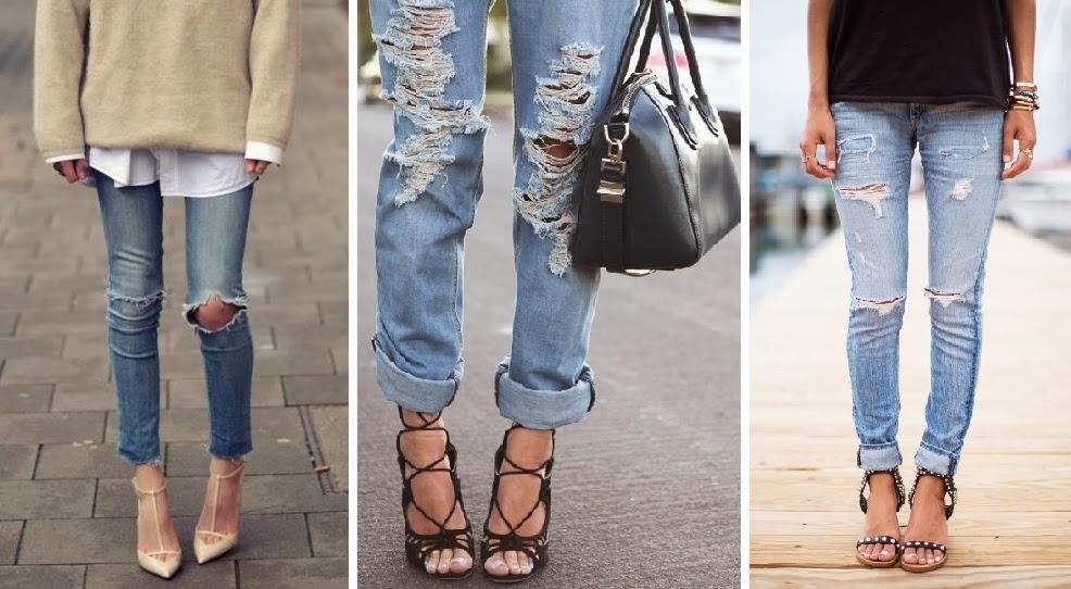 C mo reciclar tus jeans la etiquette - Decorar pantalones vaqueros ...